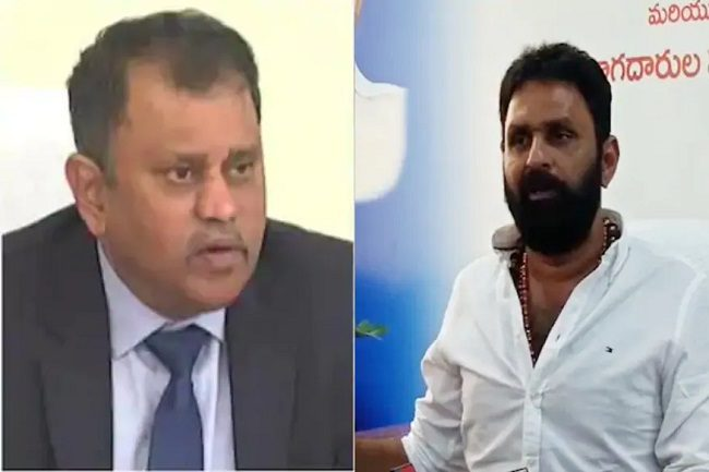 Sec Restricted Minister Kodali Nani Speaking To Media