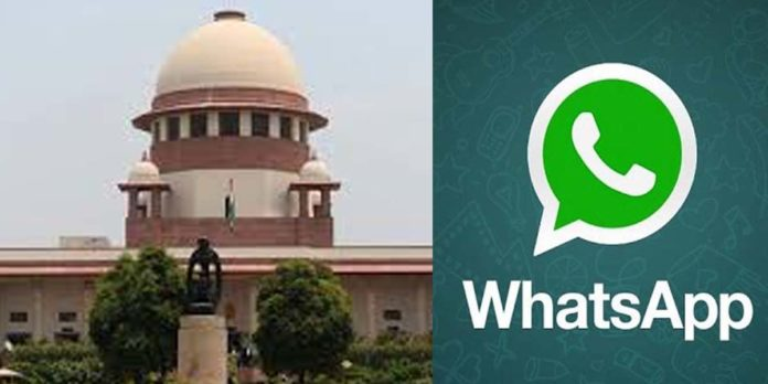 Sc Issues Notice To Centre And Whatsapp Over New Privacy Policy