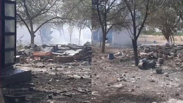 11 Killed In A Massive Fire Accident At A Firecracker Factory In Virudhunagar