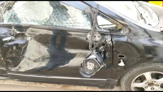 Lorry Rammed Into High Court Advocate's Car In Telangana