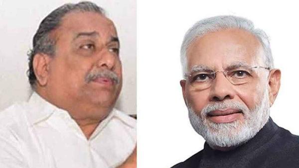 Mudragada writes a letter to Narendra Modi