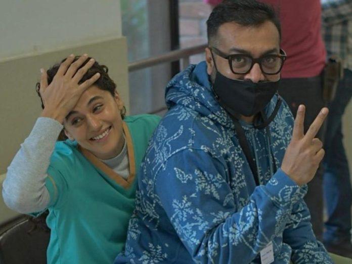 Anurag Kashyap And Taapsee's 'dobaara' Shoot To Kick Start In Goa