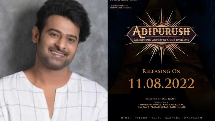 Prabhas's Adipurush Progressing At A Brisk Pace