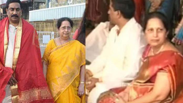 ABN-Andhra Jyothi MD Vemuri Radha Krishna's wife died !!