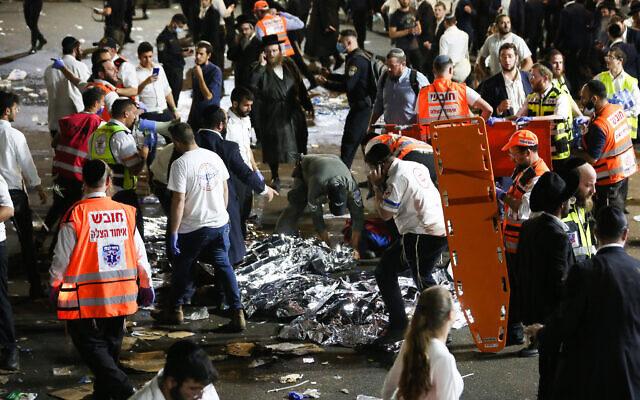 At Least 44 Killed, 100 Injured In Israel Stampede