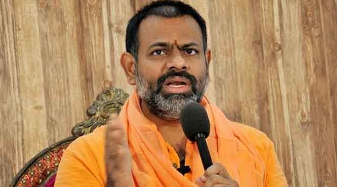 Jaganmohan Reddy did not care about the Hindus, says Swami Paripurnananda