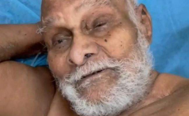 A 110-year-old man recovered from corona in Hyderabad