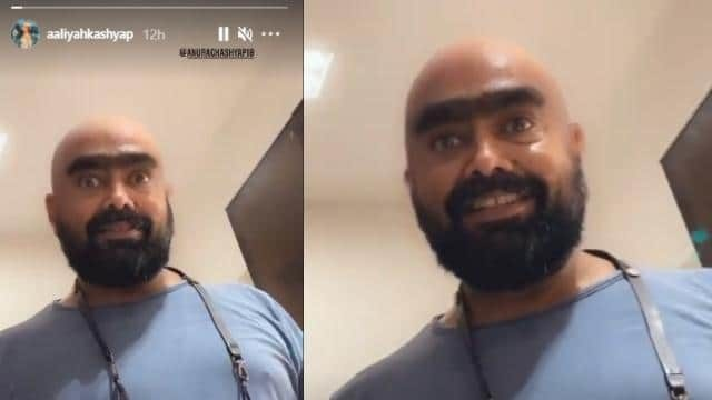 Anurag Kashyap appears in a different look after angioplasty |  TeluguBulletin.com