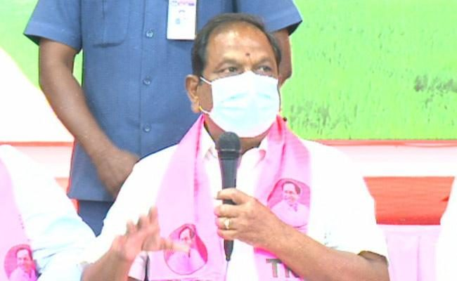 Minister Koppula Eshwar responded to comments made by Etela on TRS