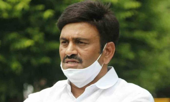 MP RRR is planning to remain safe by taking shelter under Malla Reddy??