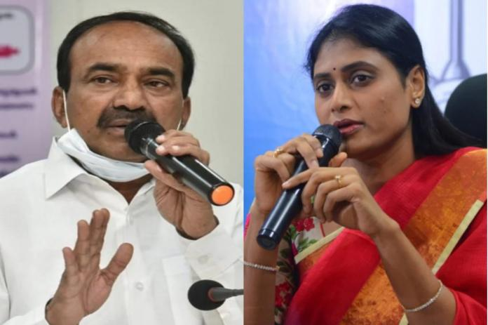 Sharmila Welcomes Etela Into Her Party
