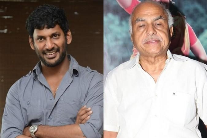 Actor Vishal Files A Police Complaint Against Rb Choudary