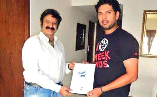 Former Cricketer Yuvraj Singh Birthday Wishes To Balakrishna