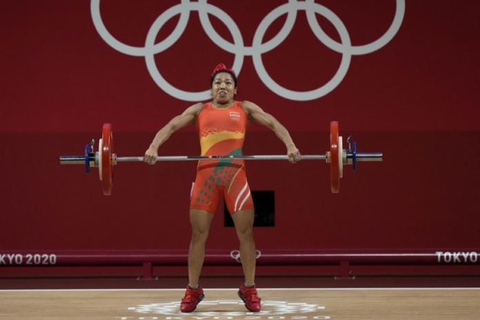 Saikhom Mirabai Chanu Bags Silver In Tokyo 2020 Olympics