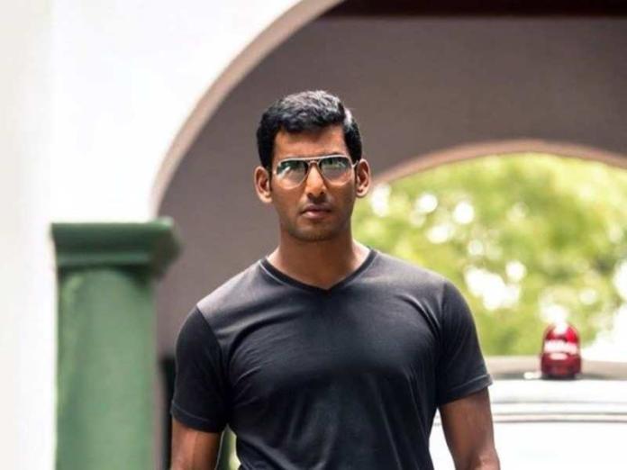 Actor Vishal Gets Injured While Shooting For Vishal 31