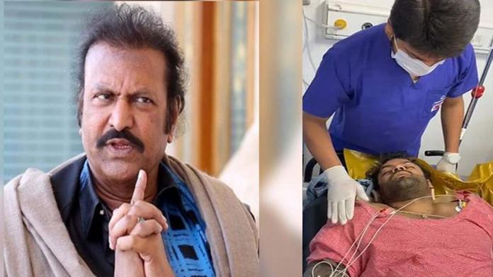 Mohan Babu's Reaction After Visiting Sai Dharam Tej At Apollo Hospital