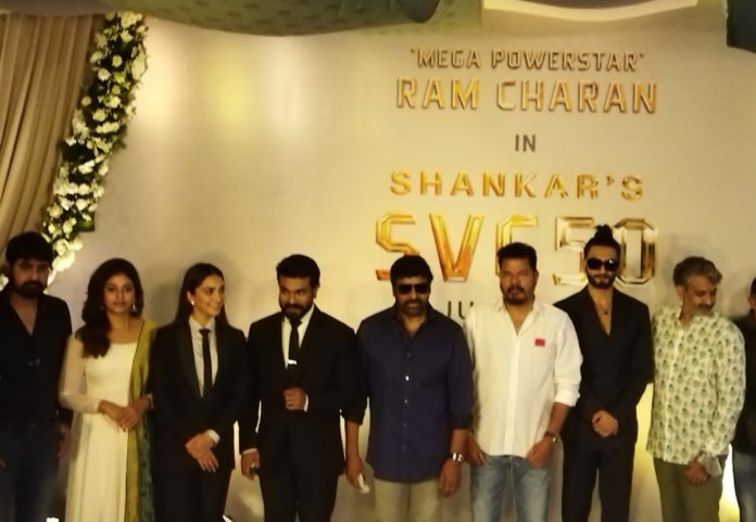 Shankar-ram Charan's Film Commenced With Muhurtham