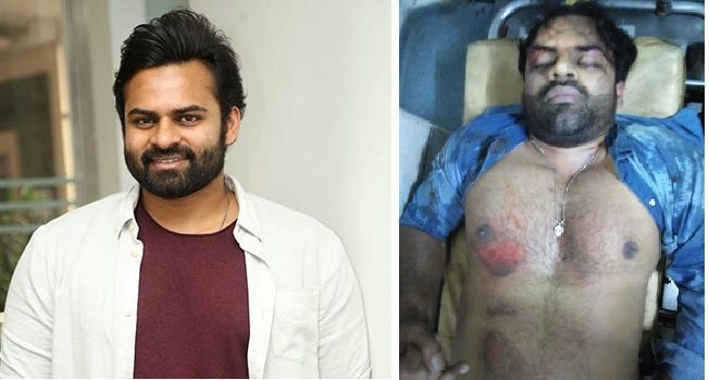Sai Dharam Tej meets with an accident | TeluguBulletin.com