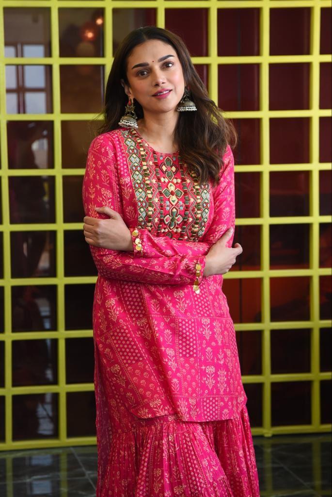 Pic Talk: Aditi Rao Poses Like A Princess