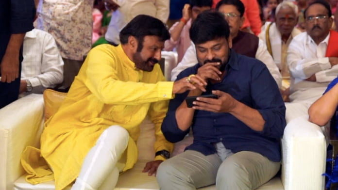 Chiranjeevi As Chief Guest On Balakrishna's Unstoppable?