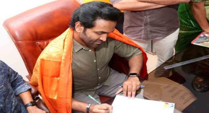 Manchu Vishnu Takes Charge As New Maa President