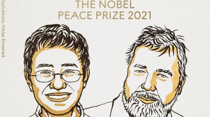 Journalists Maria Ressa, Dmitry Muratov Awarded Nobel