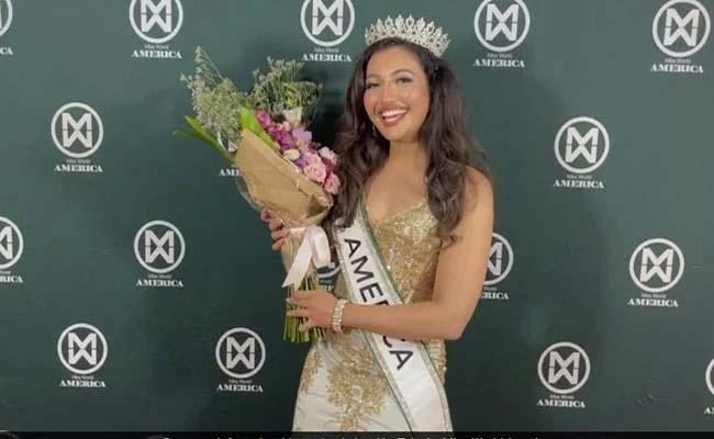 Shree Saini First Indo-american To Win Miss World America